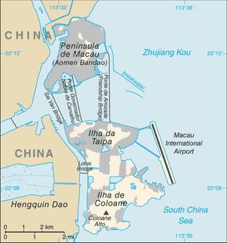 Macau-Map