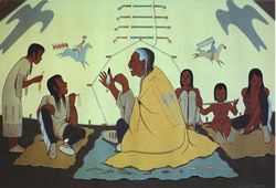 Lakota-storyteller-talking-history