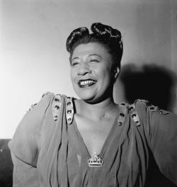 Ella Fitzgerald, November 1946. Photography by William P. Gottlieb