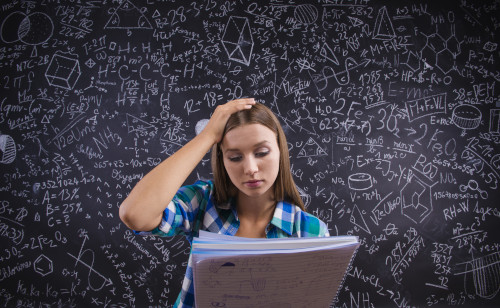 Is learning math harder in English?